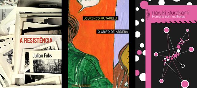 Lançamento de Livros - Outubro / Editoras Companhia das Letras, Seguinte, Paralela e Alfaguara