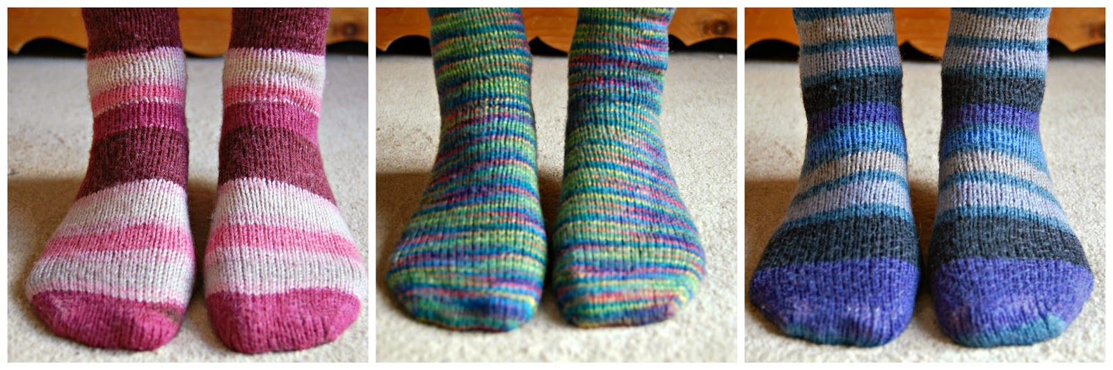 Free Crochet Sock Patterns Using Sock Yarn : Winwick Mum: Basic 6ply boot socks - free pattern and tutorial