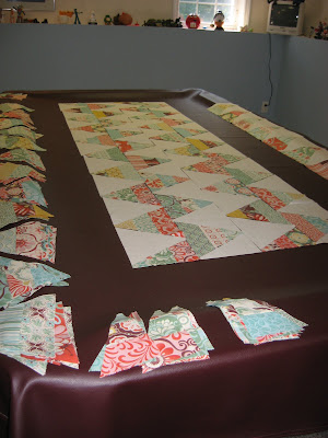 Fandango Zig Zag Quilt ~ stepping out of my comfort zone