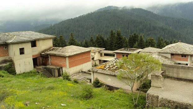 Εγκαταλελειμμένο παραμένει το πρότυπο πανεπιστημιακό χωριό στο Περτούλι Τρικάλων