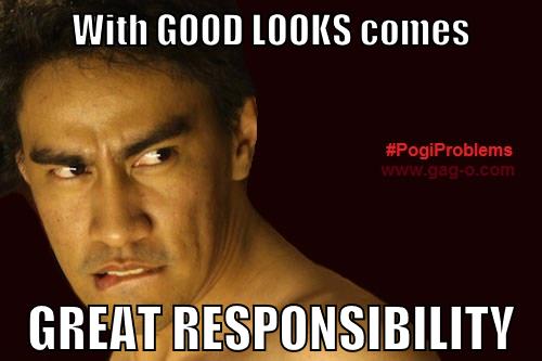 Funny Tagalog Meme Jokes : Banat ng mga pogi #pogiproblems celebrity memes collection 1