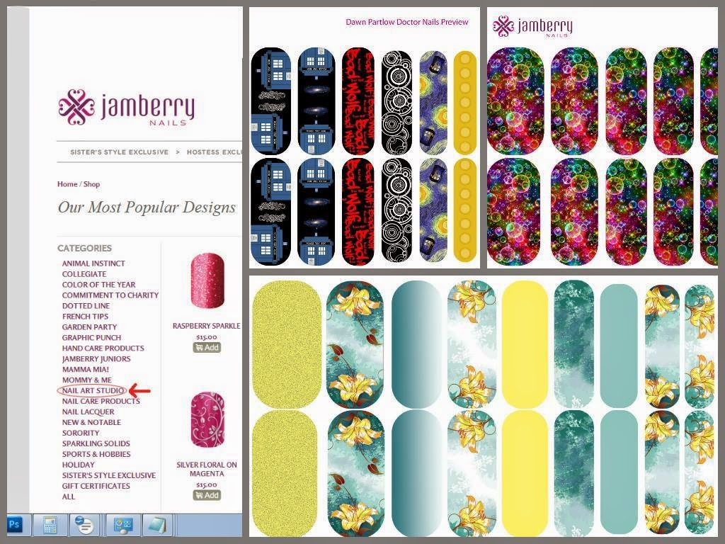 Musings from a Jamberry Independent Consultant: Jamberry\'s Nail Art ...