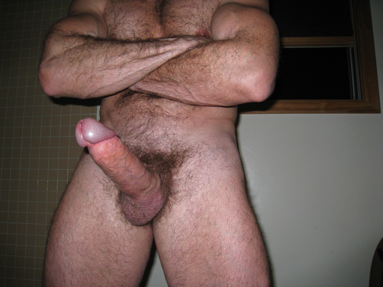 Huge Erected Prick Stimulation
