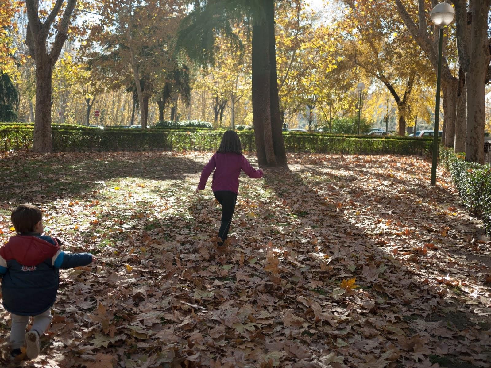 No sin mis hijos en otoño