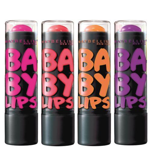 Maybelline Electro Pop Lip Balms
