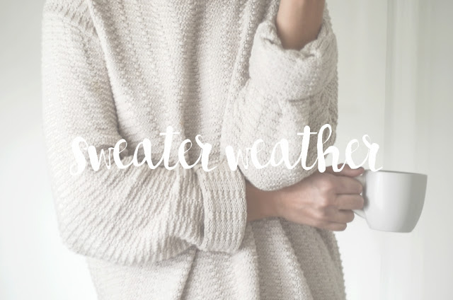 sweater weather word