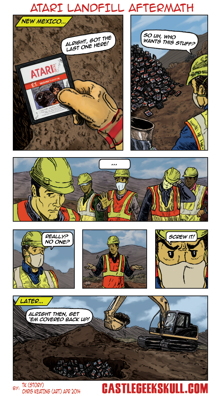Atari Landfill Dig