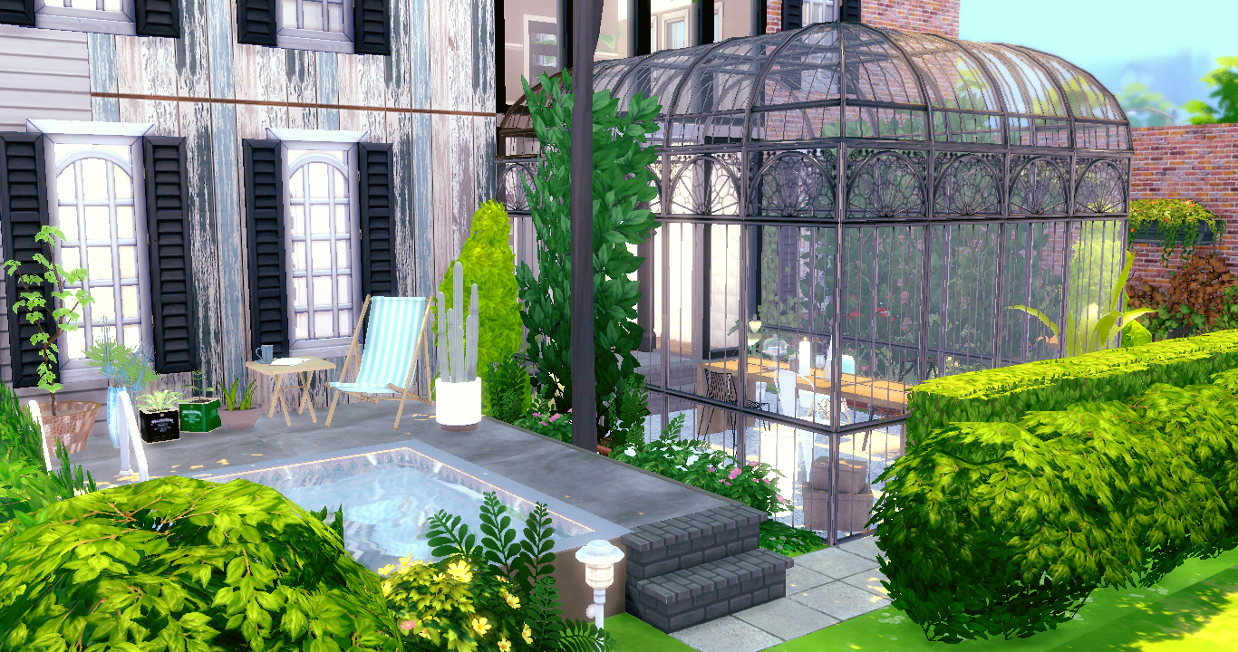 French house sims4luxury for French luxury