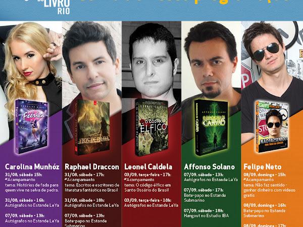 Agenda da Fantasy - Casa da Palavra na Bienal do Livro Rio!
