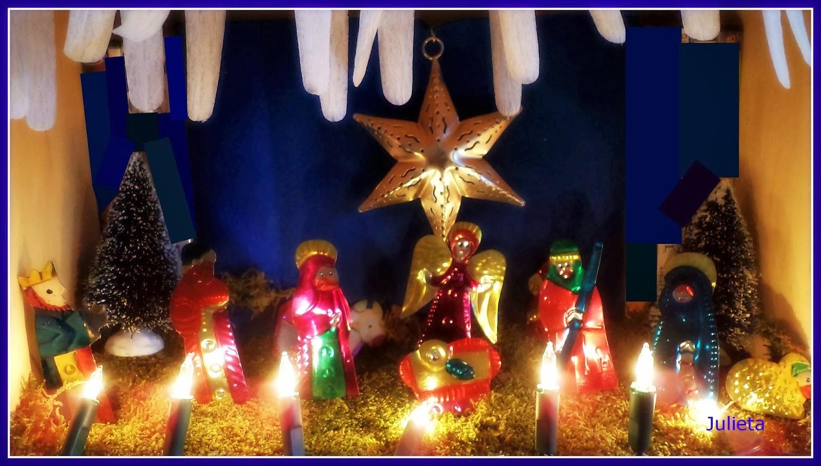 La mu eca juanita felices fiestas y fant stico 2014 for Decoracion navidena artesanal