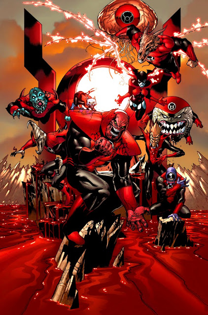RED LANTERN; The Power of Anger