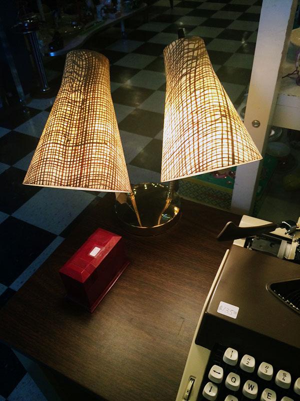 Flashback Vintage memphis, vintage desk lamp