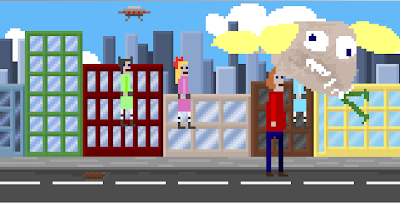 PowerPuff Girls in McPixel