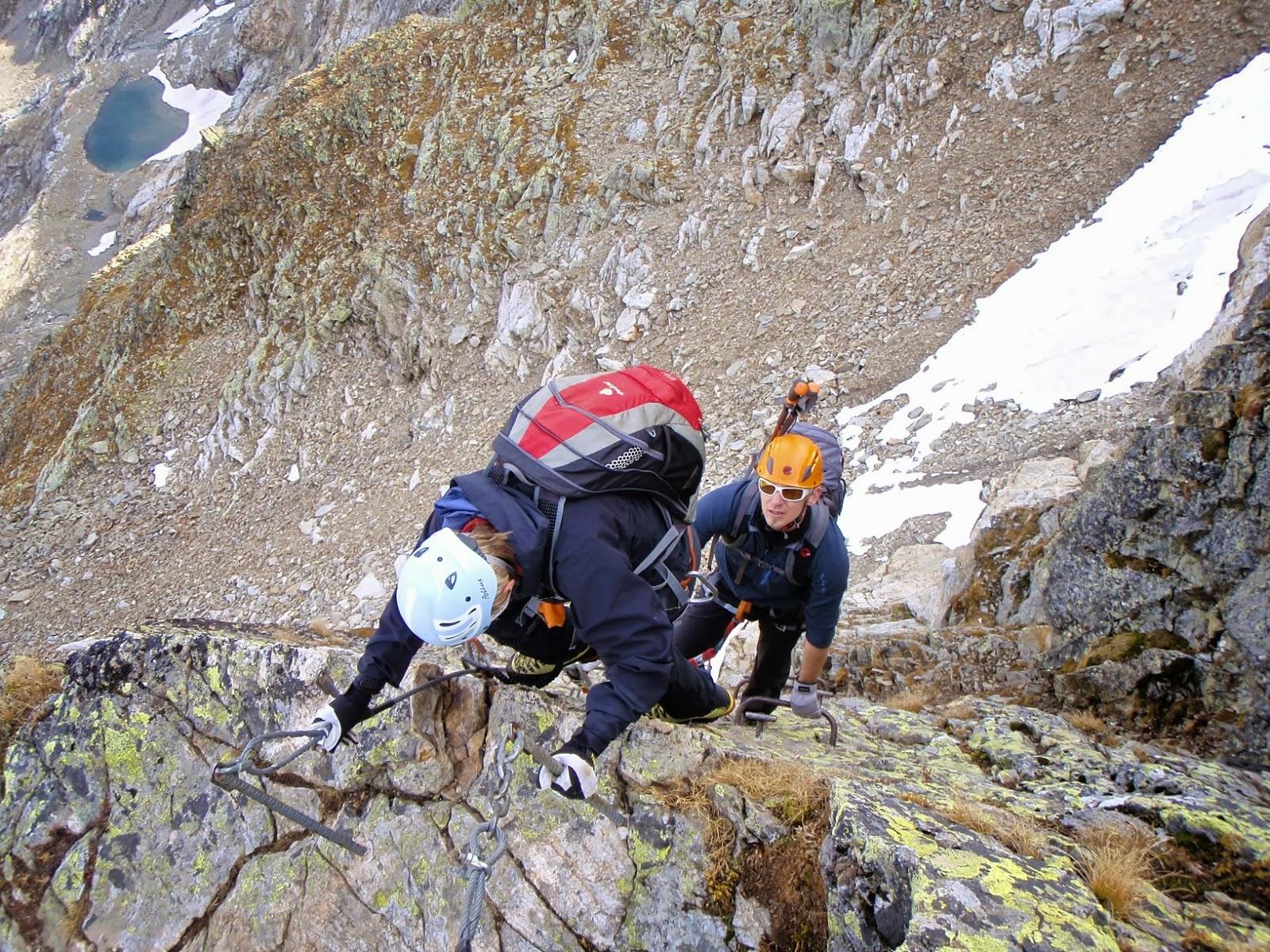 Klettersteig Tierbergli : Urs baumgartner tierbergli klettersteig und gletscher trekking