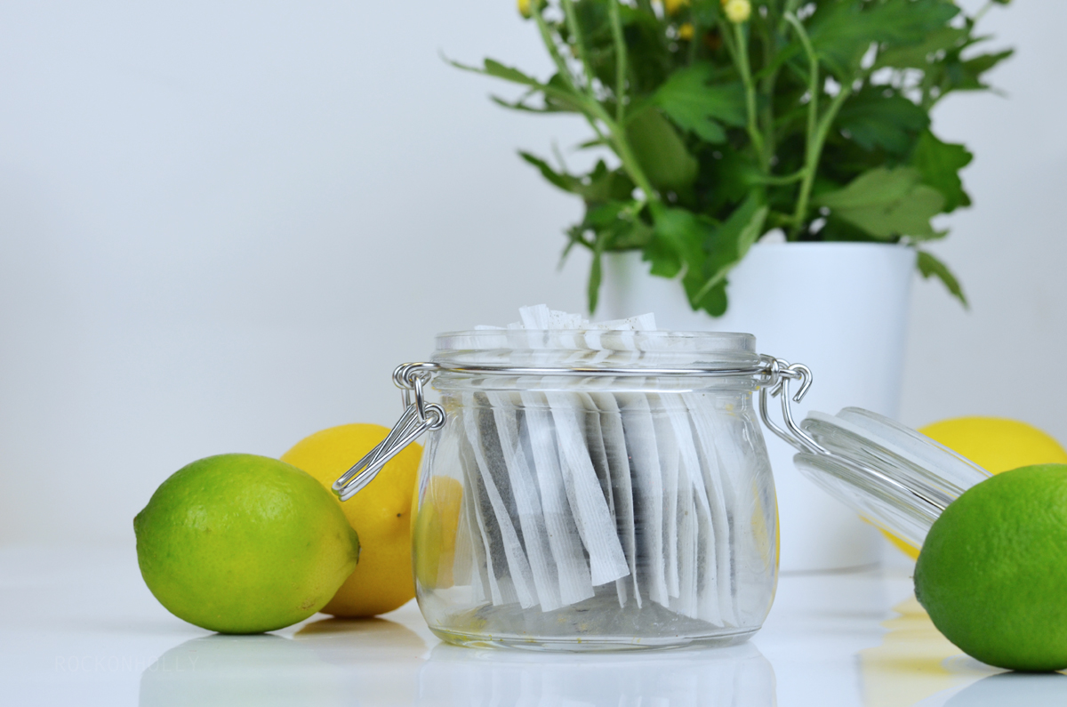 Green Tea with Lemon - Summer Detox