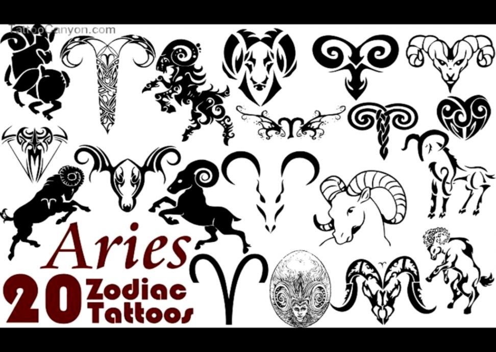 15271 free designs zodiac aries tribal tattoo wallpaper tattoo