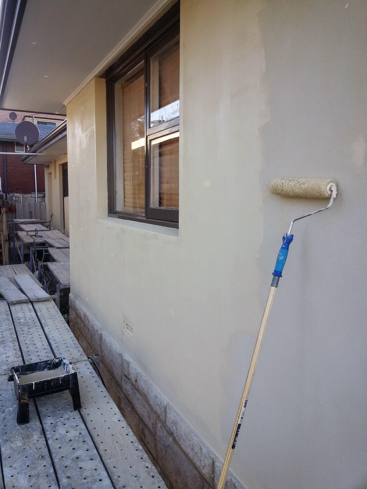 Jarrah Jungle Painting The Exterior Walls And Window