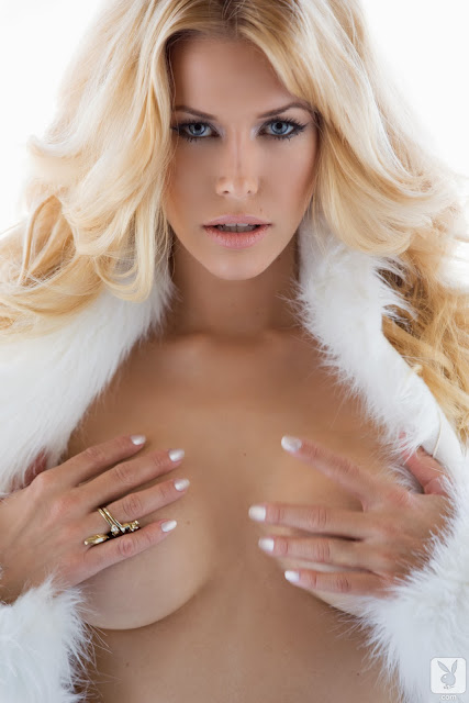 sexy playboy miss December 2013 topless photo