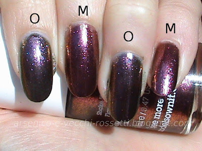 Models Own Pinky Brown Orly Space Cadet