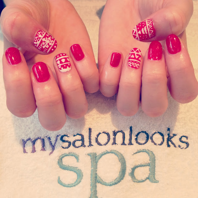 ThatRedheadSaid : Nails by Stephanie Staunton at MySalonLooks Spa
