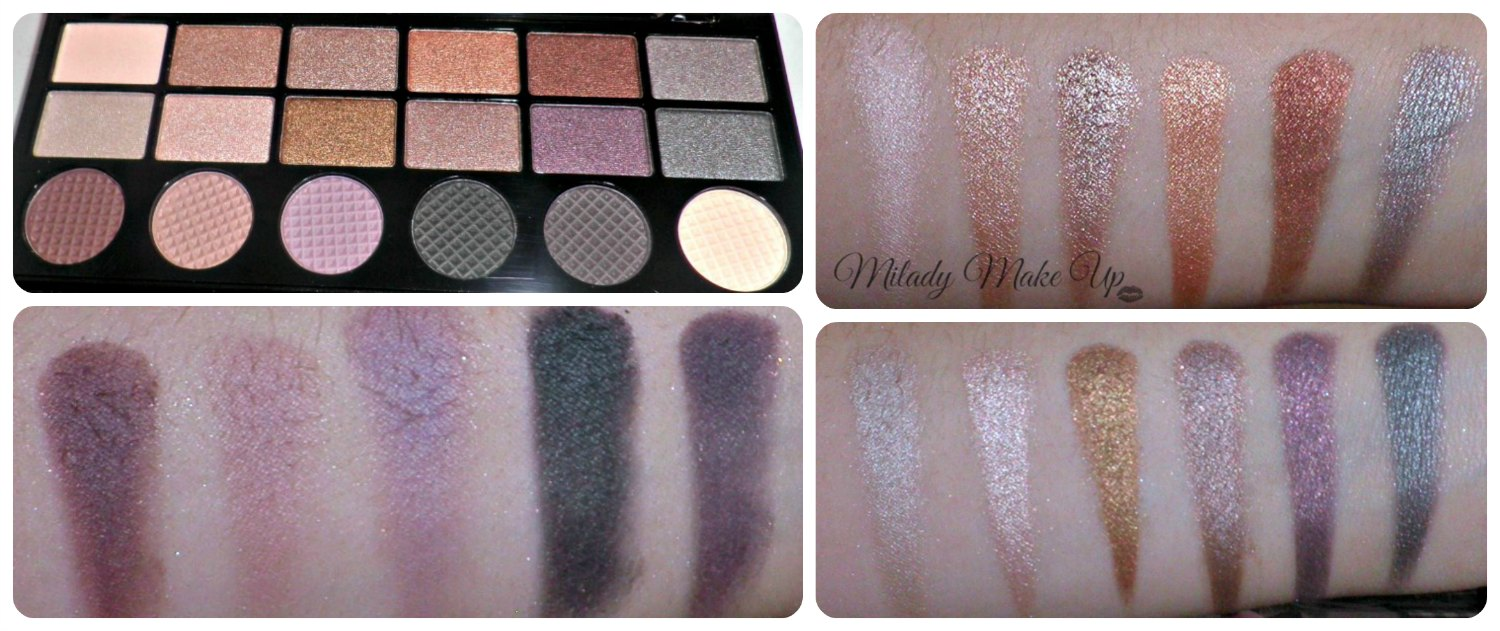 Girls on film makeup revolution swatches