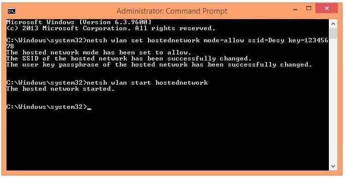 Cara Membuat Hotspot di Laptop atau PC berbasis Windows 8