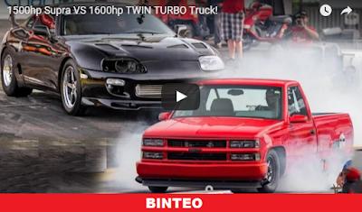 Φορτηγάκι VS. Toyota Supra!!