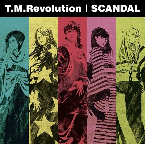lirik tm revolution dan scandal - count zero
