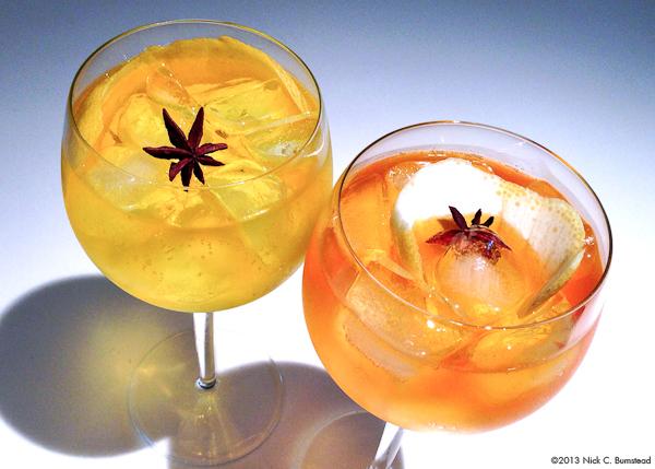 Travel. Eat. Drink. Stuff.: Cocktails | Saffron Infused Gin & Tonics