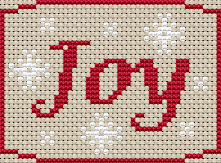 Joy Christmas Chart Freebie
