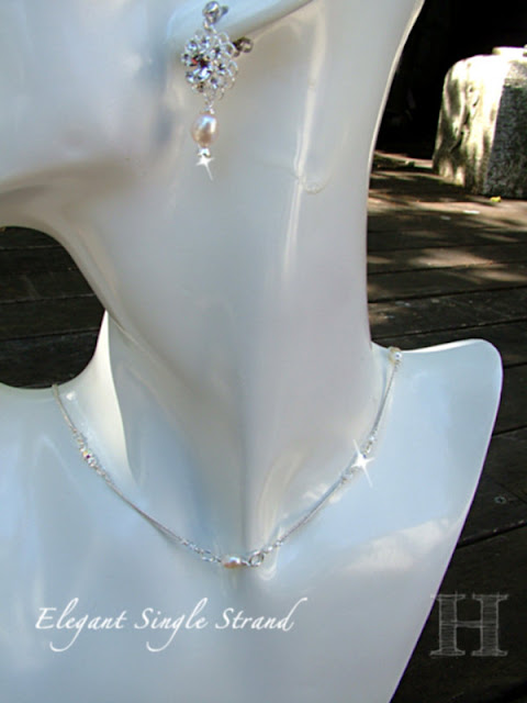 Short Single Strand Necklace