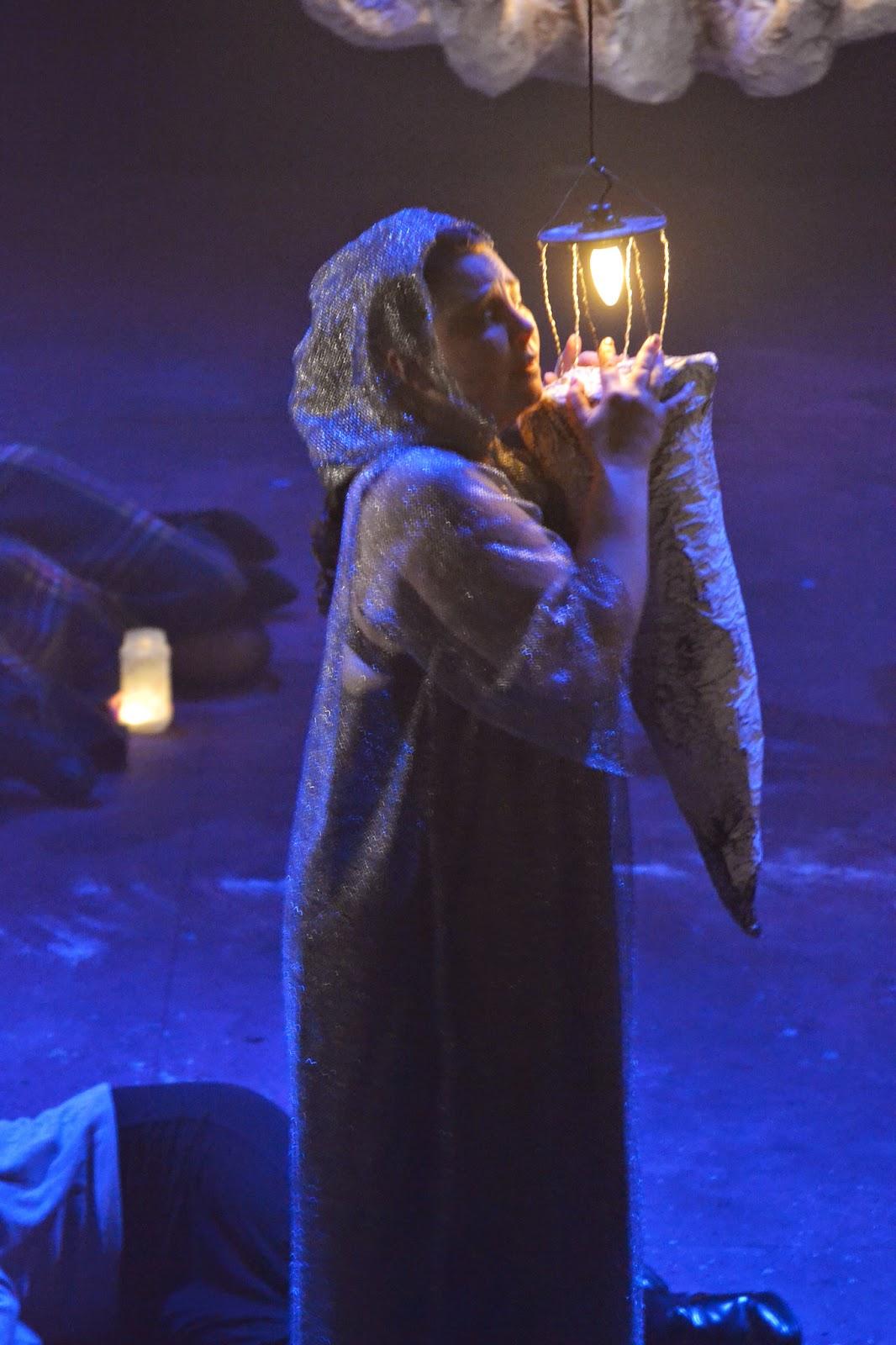 Anna Gregory (Lady Macbeth, Sleep Walking Scene) -  Macbeth - English Pocket Opera Company - Photo Joshua Hayes