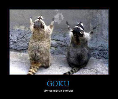 Imagen de Goku - ¡Toma nuestra energía!