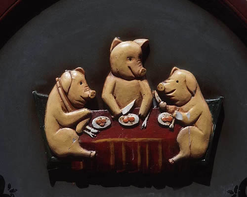 jantar de porcos