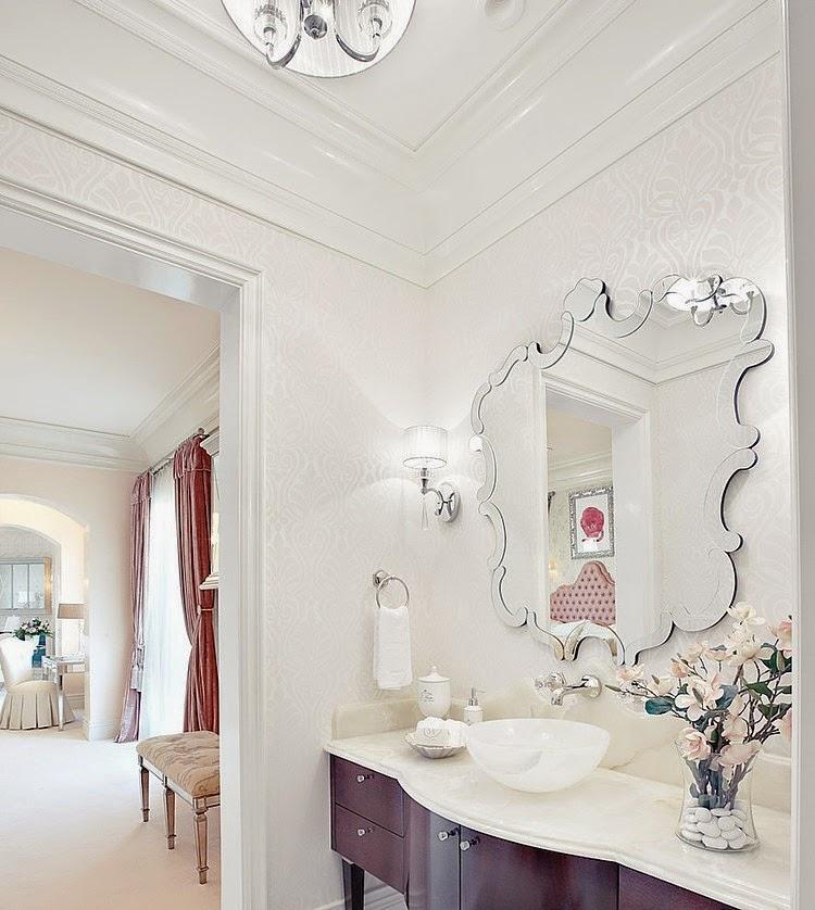 Tadelakt Dusche Boden : fun guest bathroom idea.. Have the mirror already. source: Graciela