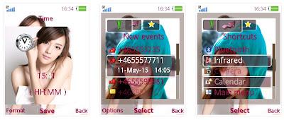 周韋彤(英語:Cica,Zhou WeiTong,1979年8月26日-),原名周娜,又稱作周偉童,中國貴州省水族人,中國著名模特兒。  周韋彤SonyEricsson手機主題for Elm/Hazel/Yari/W20 Style2﹝240x320﹞