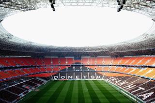 Foto didalam Stadion Piala eropa 2012