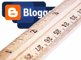 Логотип Blogger и деревянная линейка