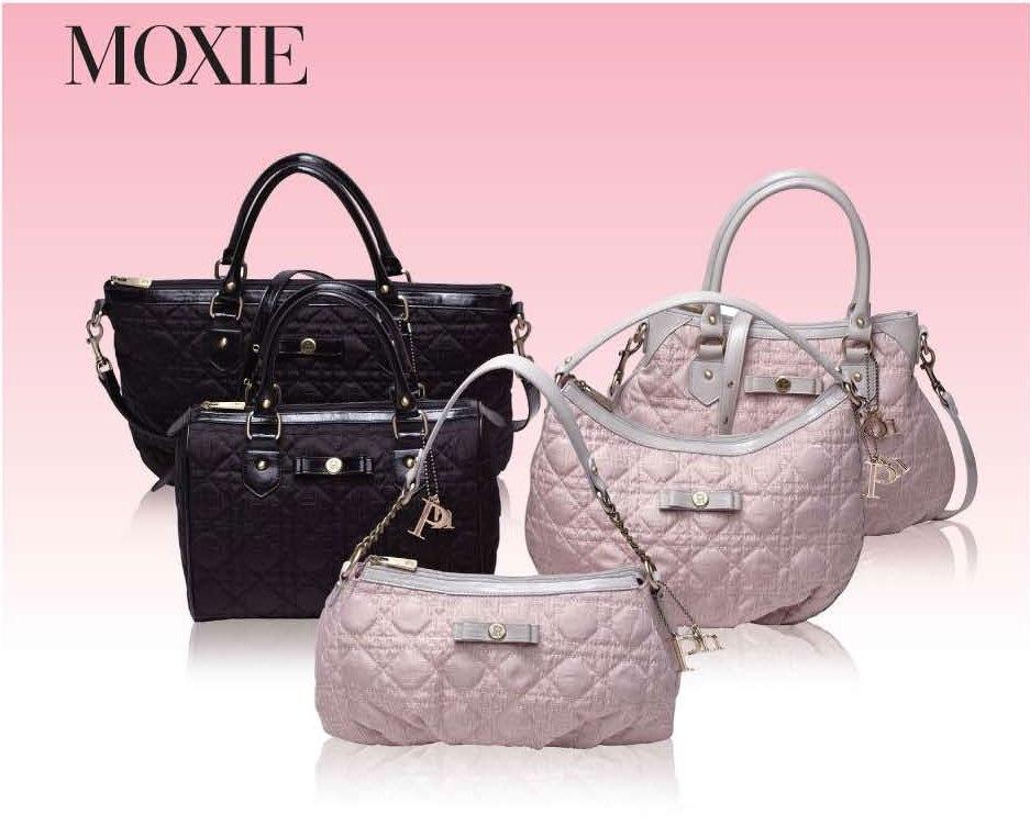The foxy Moxie handbags from Paris Hilton