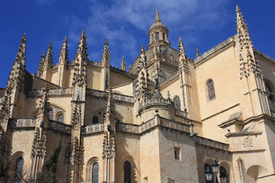 Gothic cathedral of Segovia