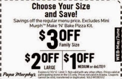 picture relating to Papa Murphys Printable Coupons named Pa murphys discount codes / Barilla pasta printable coupon codes august 2018