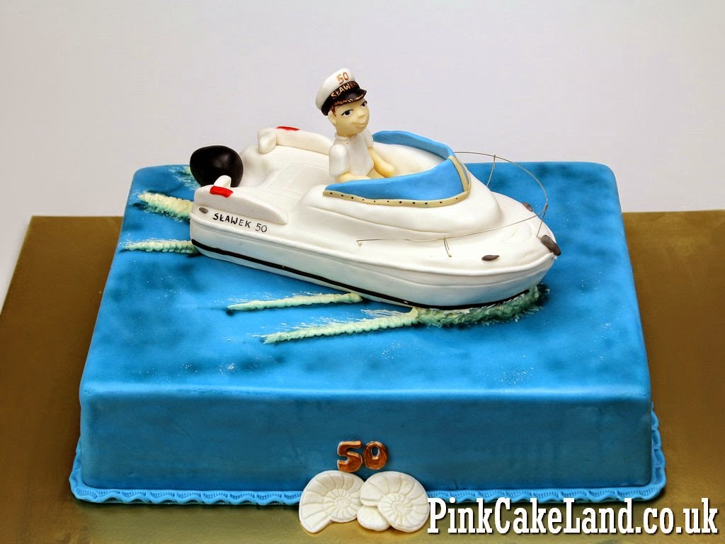 Boat Birthday Cake in London