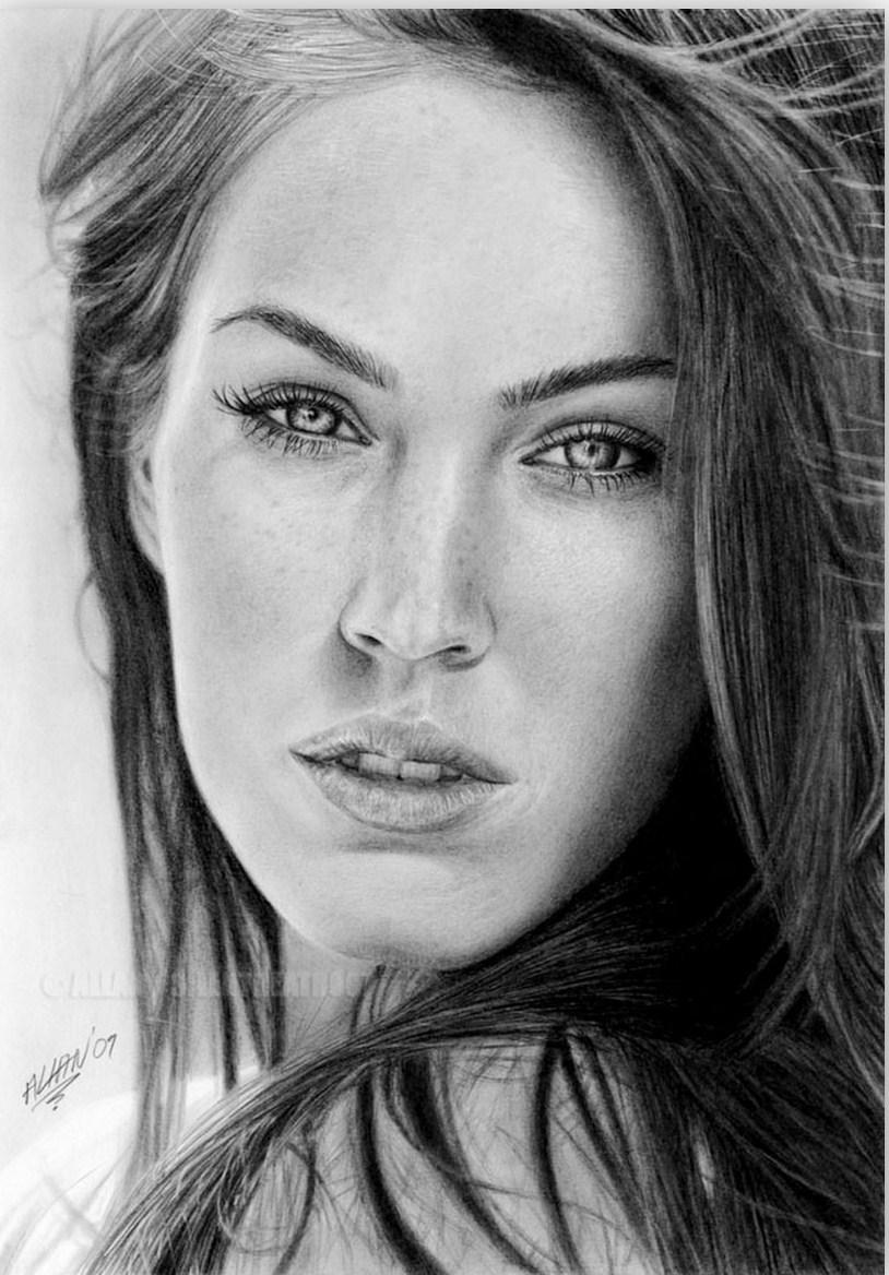 retratos de personas a lapiz 3  Dibujo Rostro  Pinterest
