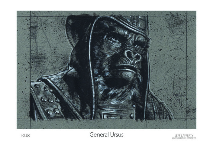 General Ursus LE Print, Copyright © 2014 Jeff Lafferty