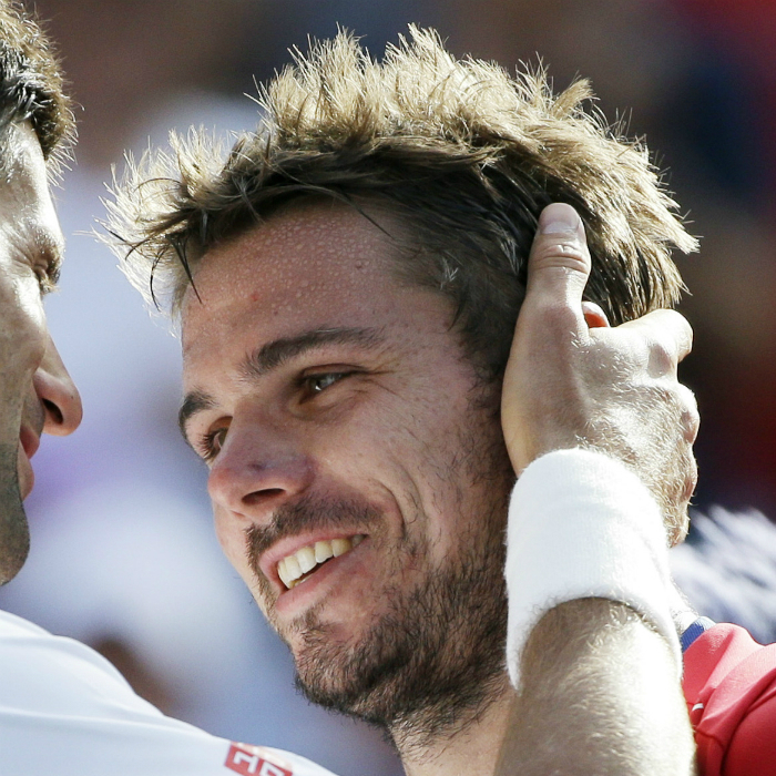Novak Djokovic and Stanislas Wawrinka • Tennis Players