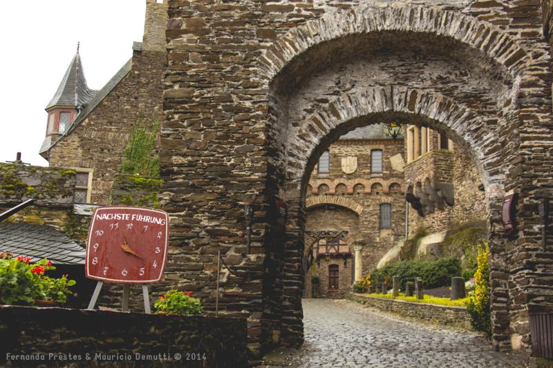Entrada do Castelo de Reichsburg