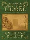 Audiobook cover for Doctor Thorne written by Anthony Trollope Narrator Simon Vance
