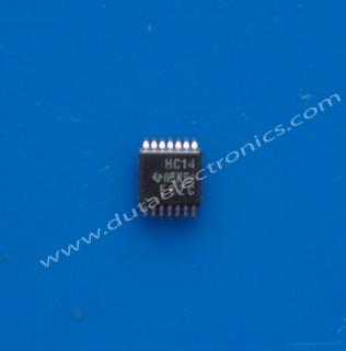 Toko Komponen Elektronik Jual IC SMD 74HC14PWR (TSSOP-14 PIN)