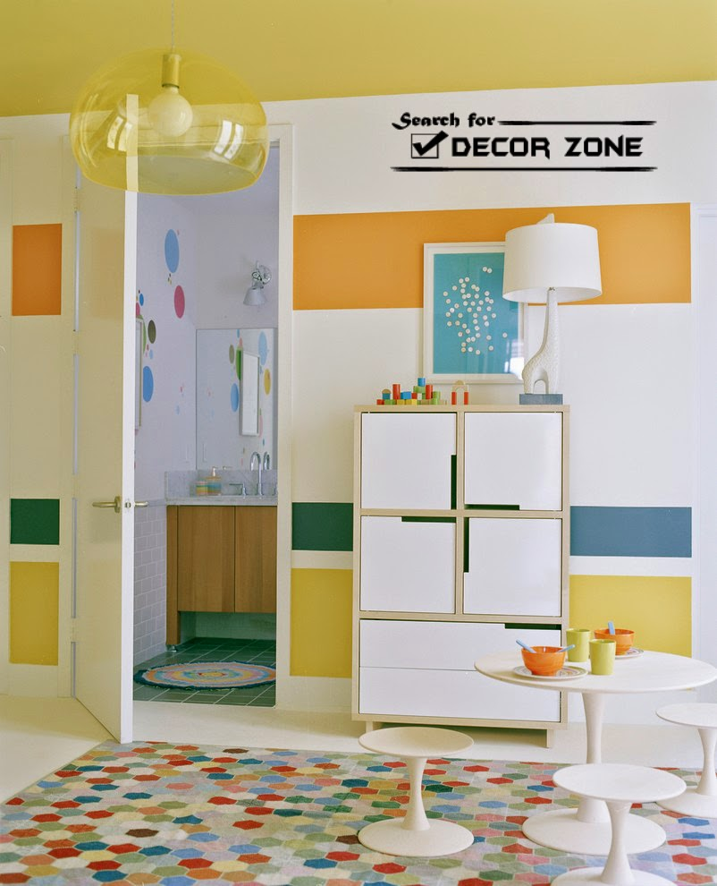 wall painting techniques for modern living room. 7 Wall painting techniques and ideas for modern home