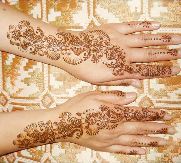 75+ Beautiful Mehndi Designs (Henna Hand Art)